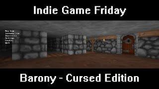 Скачать Indie Game Friday Barony Cursed Edition