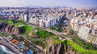 Lima Desde El Cielo 4k Drone