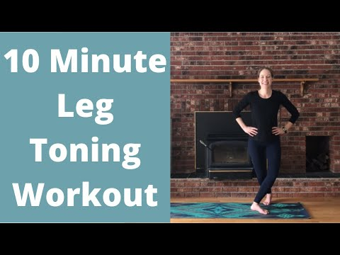 10-Minute Barre Leg Workout