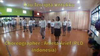 Kau Tercipta Untukku - Line Dance  Anieta Arief - Pld Ina  Demo By Rnf Line Danc