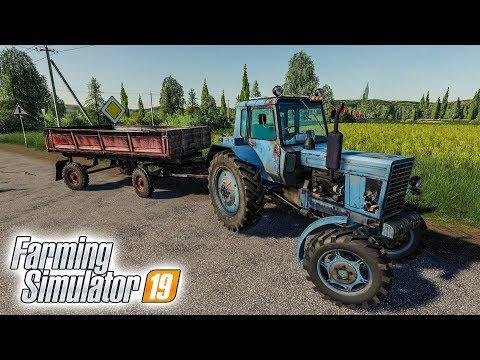 КУПИЛ СВОЕ ПЕРВОЕ ПОЛЕ В ДЕРЕВНЕ ВАРВАРОВКА! Farming Simulator 19
