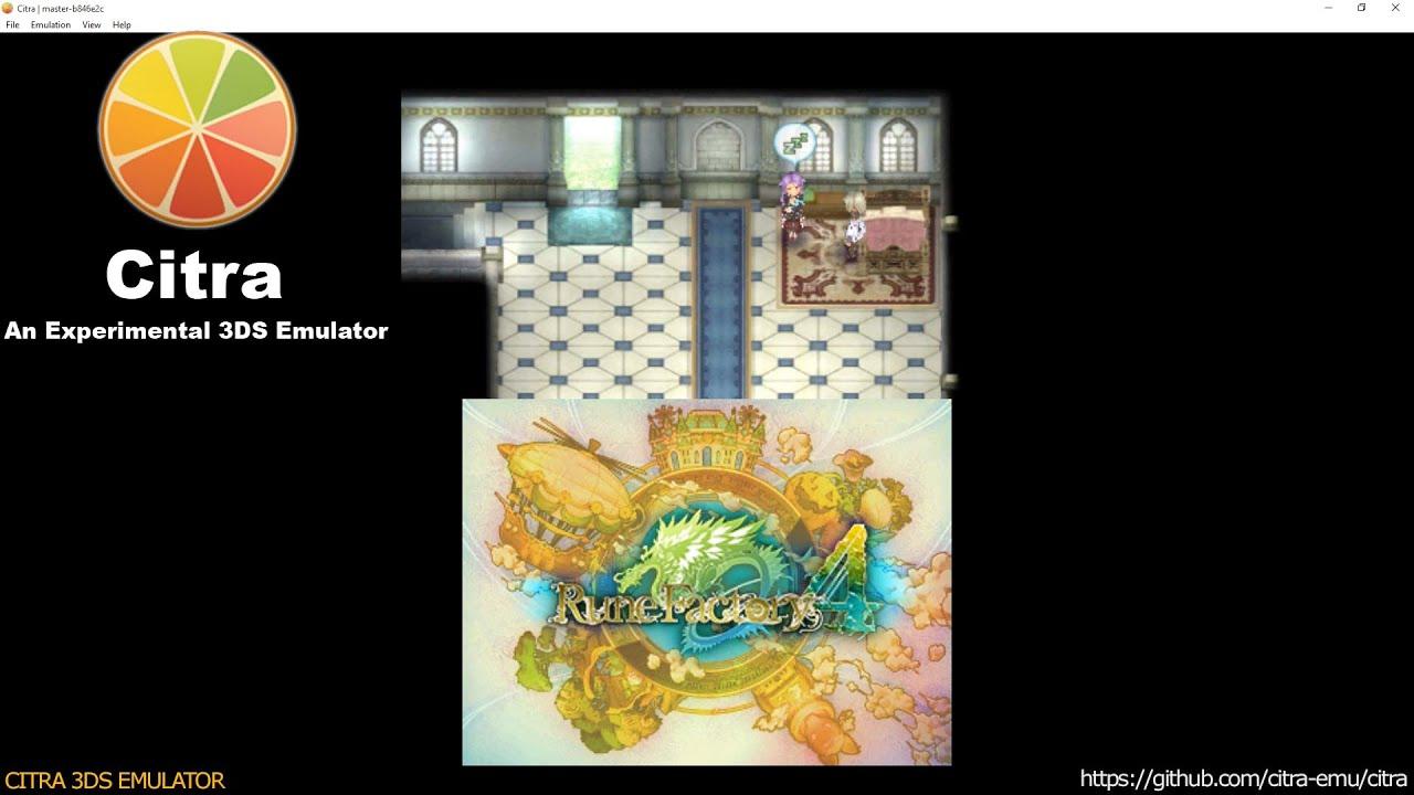 Rune factory 4 | citra emulator (cpu jit) [1080p / 60 fps.