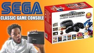 SEGA Genesis Classic Game Console UNBOXING!!!