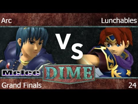 DIME 24 - FX | Arc (Marth) vs FX | Lunchables (Roy, Marth) G