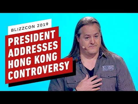 Blizzard President Addresses Hong Kong Controversy - Blizzcon 2019