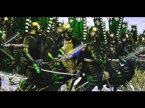 Shogun 2 - 1,000 Katana Samurai vs. 12,000 Yari Ashigaru