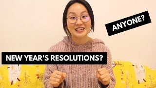 2019 New Year's Resolutions! Fingers crossed...
