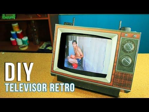 Televisor RETRO DIY | Regalo para Papá o Mamá| VINTAGE