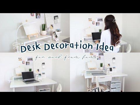 Desk Decoration Idea