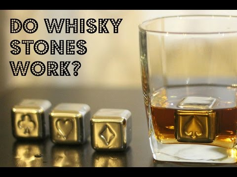 Do Stainless Steel Whisky Stones work? | Demonstration
