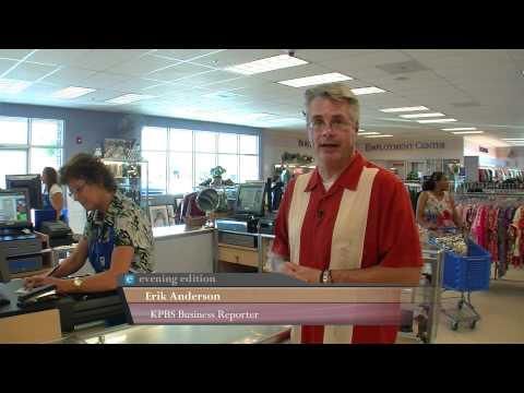 Shoppers Boost Business At San Diego's Thrift Stores