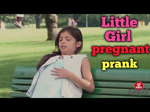 Little Girl Pregnant Prank// Epic Reaction//Funny Videos