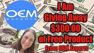 I am Giving Away $300.00 of Free Product from OEM Experts through a Contest. I Pick the Winner!!!