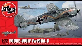 AIRFIX 1:72 Focke-Wulf Fw190 A-8 - Photo Build