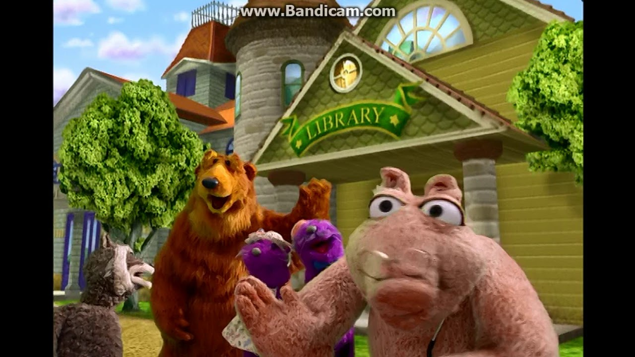 """Opening to """"Bear in the Big Blue House: Practice Makes ..."""