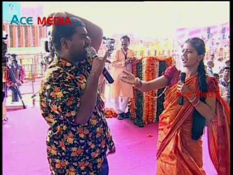 Bithiri Sathi and Savitri Performance on PM Modi Visit to Gajwel