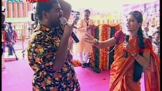 Bithiri Sathi and Savitri Performance on PM Modi Visit to Gajwel