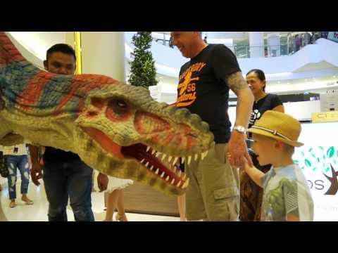 ไดโนเสาร์บุกสยามพารากอน! Jurassic Expo @Parc Paragon