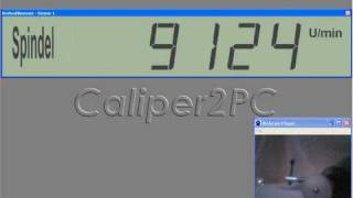 Caliper2PC - Drehzahlmesser / Tachometer
