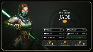 Mortal Kombat 11 Mobile Jade Gameplay Breakdown