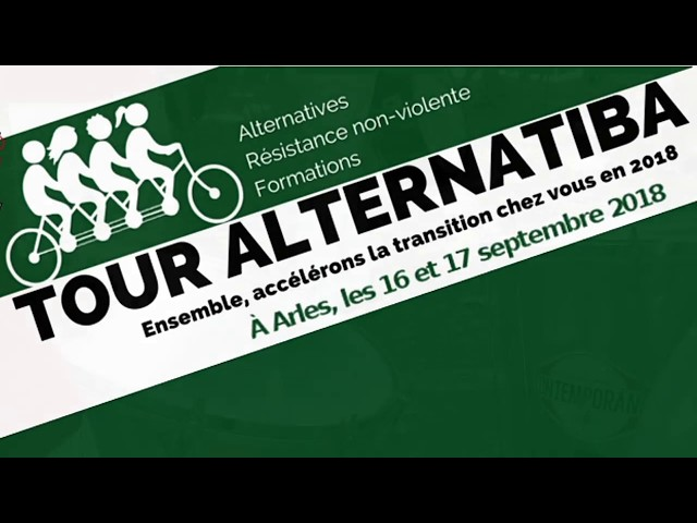 Tour Alternatiba Arles