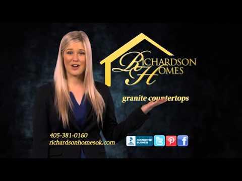 Oklahoma S Luxury Custom Home Builders We Build On Your Lot Richardson Homes