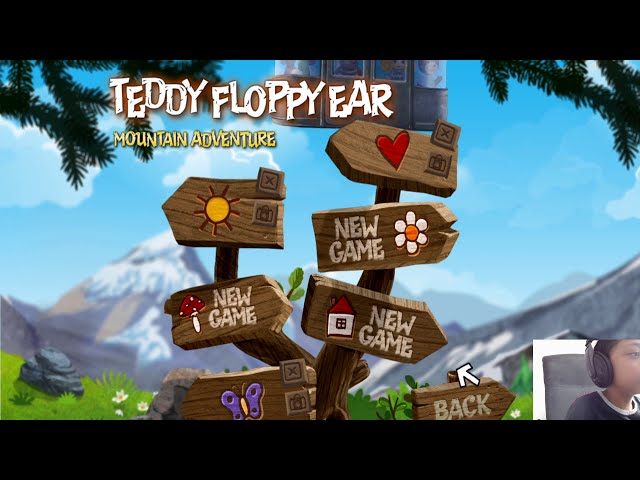Playing Teddy Bear Mountain Adventure game