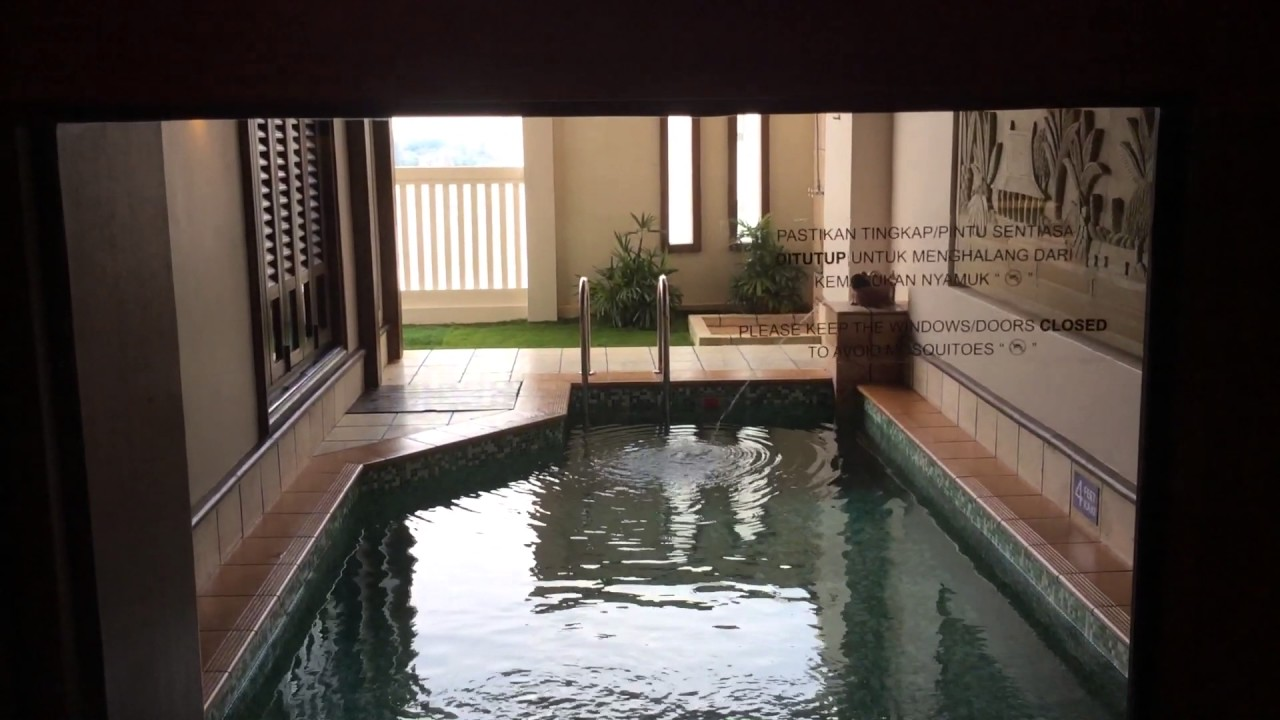 Grand lexis port dickson sky pool villa youtube for Garden pool grand lexis