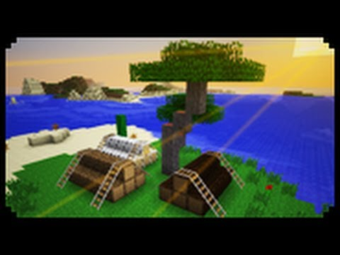 ✔ Minecraft: How To Make Tied Down Logs