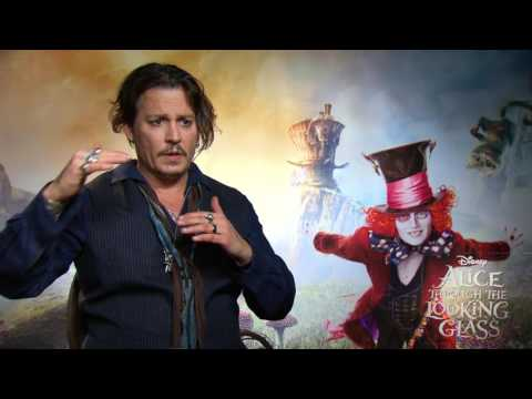 Alice Through The Looking Glass Interview - Johnny Depp