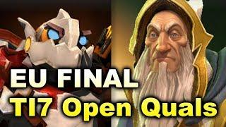 Loda Stack vs Planet Dog - EU Final - TI7 Open Quals DOTA 2