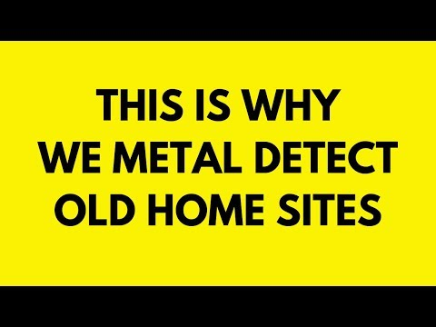 Metal Detecting Old Home Sites | Lucky Bucket List Finds