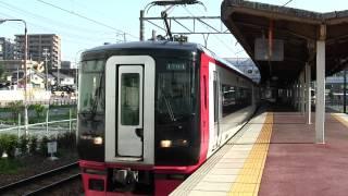 名鉄1700系 普通河和行き 知多半田駅発車