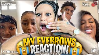 Everyone Reacts To My Eyebrows **Unbelievable**