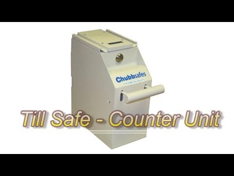 Introducing The Chubb Till Safe Counter Unit