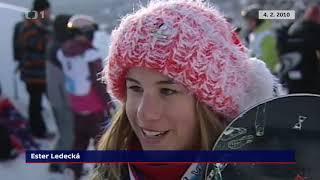 Ester Ledecká je dvojnásobnou olympijskou vítězkou — Události