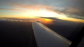 Spectacular Sunset, Cloud Surfing, Icing and Stormy Landing - Cirrus SR22 Turbo IFR 10/8/2014