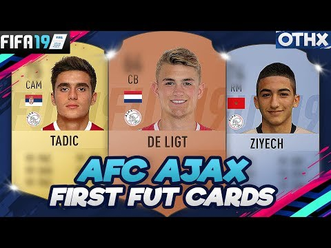 FIFA 19 | AFC Ajax First and Current FUT Cards + Faces & Potential FUT 09 to FUT 19 @Onnethox