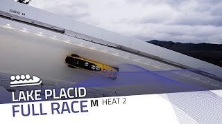 Lake Placid | BMW IBSF World Cup 2018/2019 - 4-Man Bobsleigh Heat 2 | IBSF Official