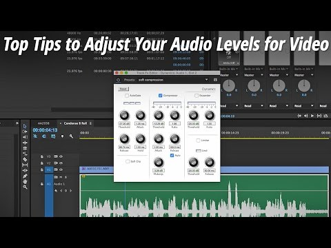 Top Tips to Adjust Your Audio Levels for Video