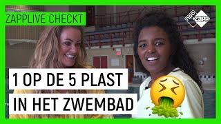 HOE VIES IS ZWEMBADWATER? | Zapplive Checkt | NPO Zapp