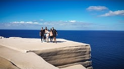 Wedding Cake Rock The most beautiful cliff ever near to Sydney Australia