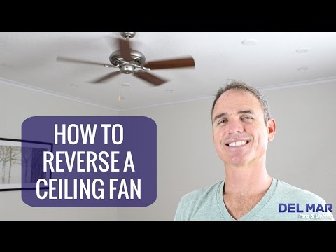 Ceiling Fan Direction Rotation Switch