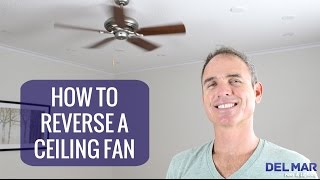How To Reverse A Ceiling Fan