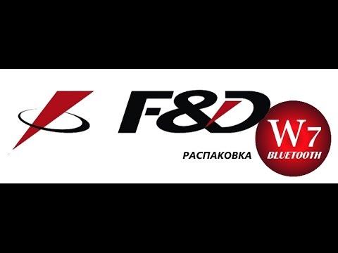 Акустическая система F&D W7 Black