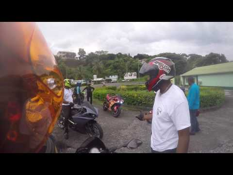 Nature Island Riders NIR Dominica Independence 16 Island Ride Pt 1