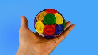 ASMR Diy Pop It Ball 3D Printed / Simple Dimple Sphere 3D Print #shorts