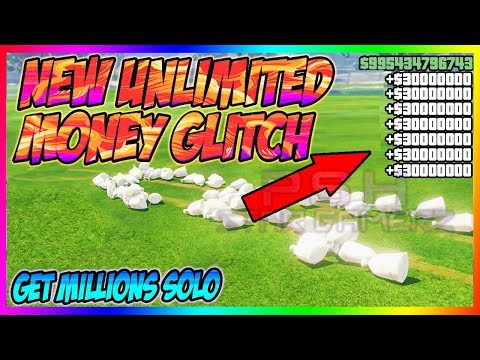Unlimited Solo- GTA 5 Money Glitch *500Million$ in your hands* gta online 1.47 money glitch