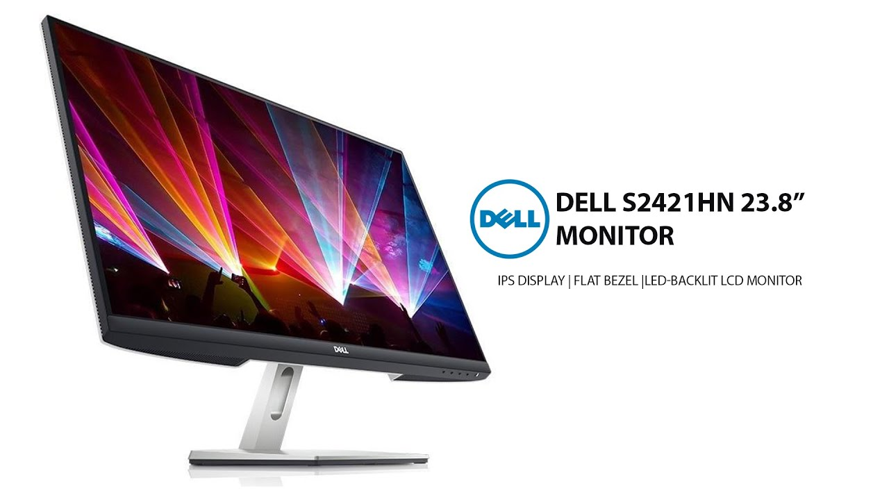 Dell S2421HN 24 Inch Full HD 1080p IPS Monitor | Unboxing Cinematic Video -  YouTube