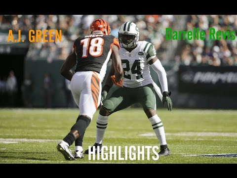 A.J. Green | Week 1 Highlights vs Darrelle Revis ᴴᴰ